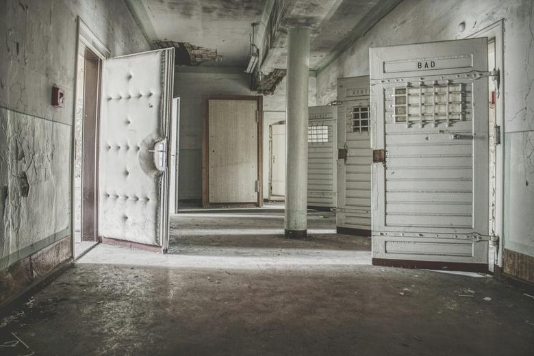 Verlaten gevangenis -