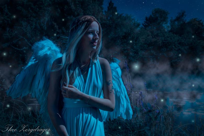 Fairy night - Van fel daglicht naar nacht om de sfeer wat zachter te krijgen.