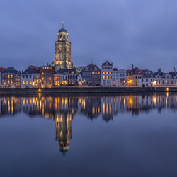Deventer in the Blue Hour