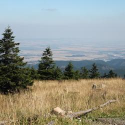 De Brocken - op 1142 meter hoogte