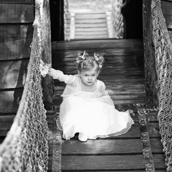 princess on the bridge
