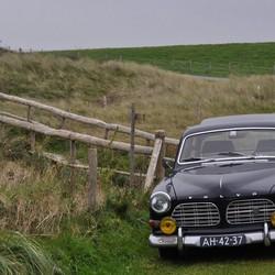 Oude Volvo op Texel