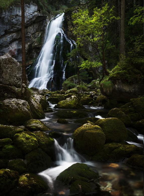 Waterval gorlinger - Deze foto is gemaakt bij de watervallen van Gorlinger in Oostenrijk.