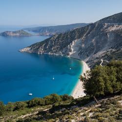 Myrtos Beach Kefalonia
