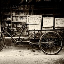 Fiets in Xian, China