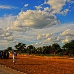 Cuba on road_