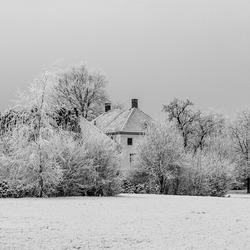 groot zien svp    Landschap  in winter kleur