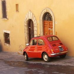 Tomaatrode Fiat 500