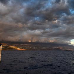 Indrukwekkend uitzicht op wandeleiland La Palma