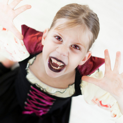 my little vampire....