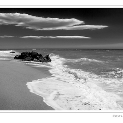 Strandwandeling Costa Brava