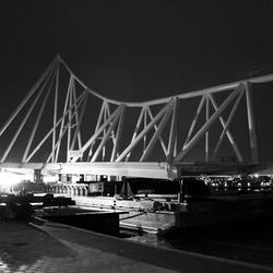 Oslo brug voor vertrek