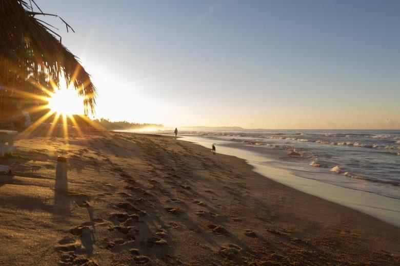 Zonopkomst Sri Lanka - Zon opkomst in Sri Lanka. Deze foto is in het zuiden van Sri Lanka gemaakt in de plaats Hikkaduwa.