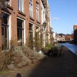 Langs de Schie in Schiedam
