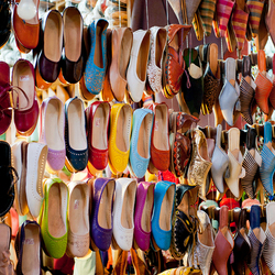 Shoes in all colors