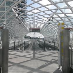 nieuwe halte den Haag CS (randstadrail)