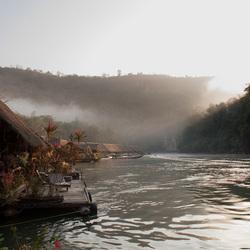 Thailand floating hotel