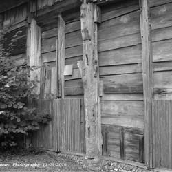Buitenzijde schuur van het Mastboom Museum