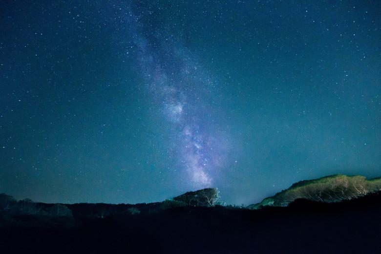 Melkweg over Sardinië