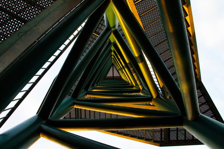 Uitkijktoren van onder