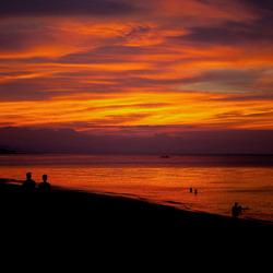 Zonsondergang op Bali