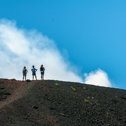 Uitzicht op de Etna.