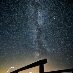 Lichtshow op Schiermonnikoog