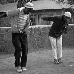 Dansers in Lesotho
