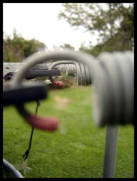 Spanning 1 - Gemaakt van een trampoline voor de fotowedstrijd Spanning.