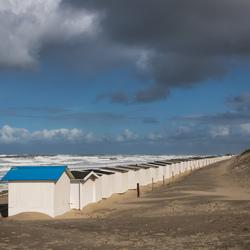 Texel - strandhuisjes bij Paal 9...(2)