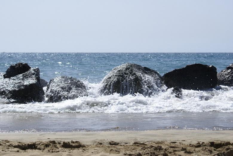 Zon,zee,strand. -