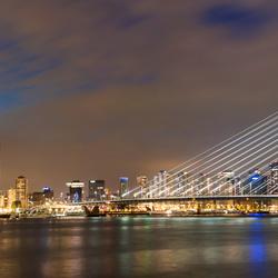 Panorama Rotterdam Erasmusburg