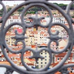 Lissabon achter hekken