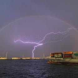Onweer Europoort