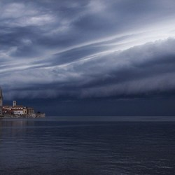 Opkomende storm, Poreć - Kroatie