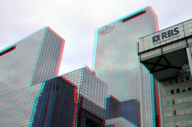 hoogbouw Weena Rotterdam 3D - Hoogbouw Weena Rotterdam<br /> 3d anaglyph stereo red/cyan