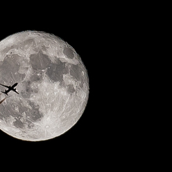 Moon flyby