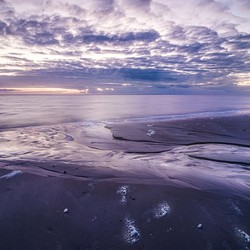 Ameland Hollum 'moments before sunset'
