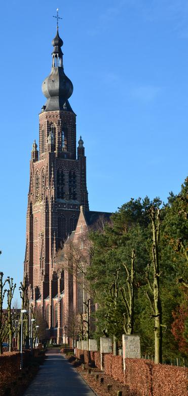 Hoogstraten Sint-Katharinakerk - De Sint-Katharinakerk in Hoogstraten werd gebouwd tussen 1525 en 1550 in opdracht van Antoon van Lalaing en Elisabeth