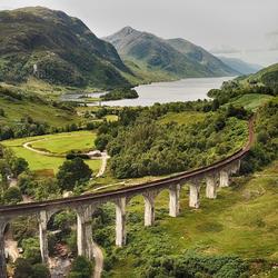 Glenfinnan viaduct, Schotland