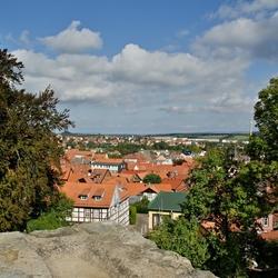 Blankenburg vanaf de toren.