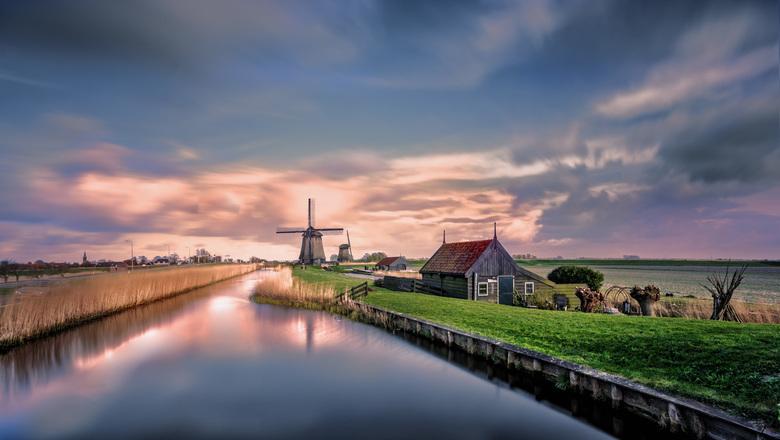 Dutch landscape - Als Vlaming geraak ik er niet op uitgekeken .... telkens weer mooier ...<br /> <br />  dit is Schermerhorn