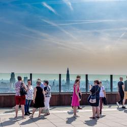 Op het dak van MAS te Antwerpen