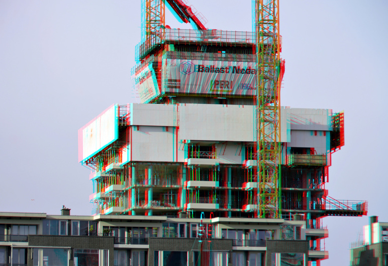 Nieuwbouw Cooltower Rotterdam 2021 3D - Cooltower Rotterdam 2021 3D<br /> D7000 cha-cha  18-200