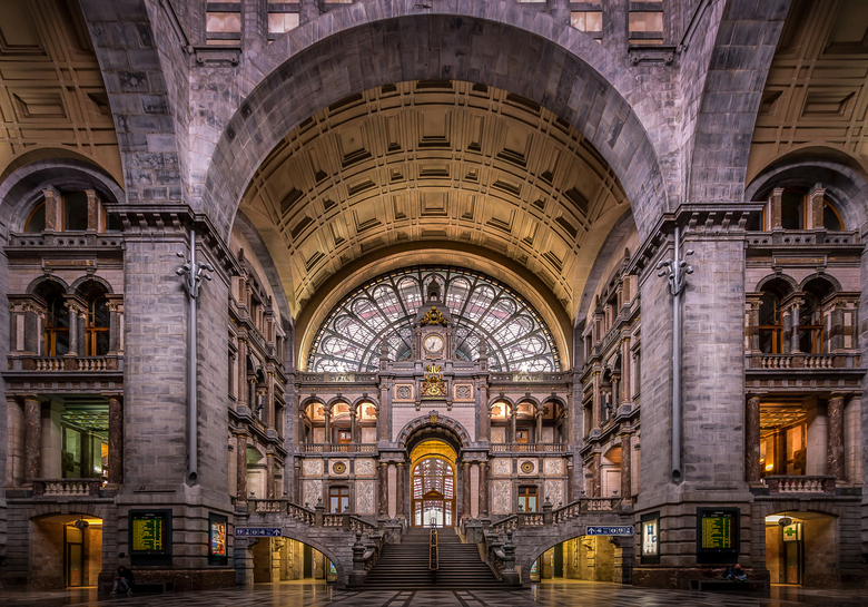 Centraal Station Antwerpen, Belgie