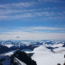 Hoogste berg van Noord Europa. Noorwegen ll