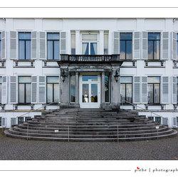 Het beroemde bordes van paleis Soestdijk