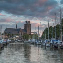 De jachthaven van Dordrecht