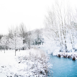 Zeldzame sneeuw