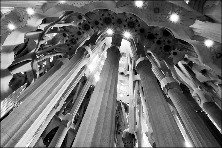 Barcelona 2012-88 - Ik heb in de Sagrada met volle teugen genoten van al het moois dat ik er zag. En het is me nogal wat. Je hebt de neiging meteen vo